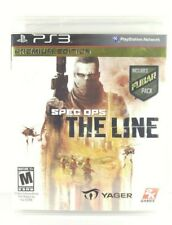 NEW & SEALED Spec Ops: The Line, Premium Edition (PS3, 2012)