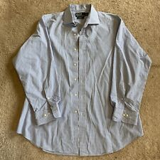 Mens Ralph Lauren Polo Regent Classic Fit Long Sleeve Size Large 17 32/33