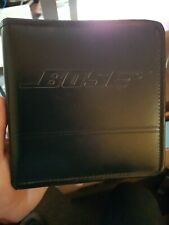 Bose CD Black Leather Case