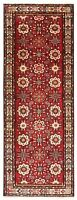 "Hand Knotted Red Tribal Runner Wool Nomadic Malayer Oriental Rug 3'9"" x 10'"