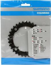 Shimano Deore XT M760 32T x 104mm BCD 9-Speed Bike Inner Chainring  MTB - Black