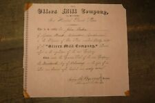 More details for 1867 share certificate for ellers mill company of ulverston cumbria cumberland