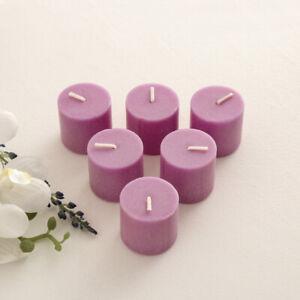 Decorative Colour Connect Votives Wax Candles - Purple for Diwali & Christmas