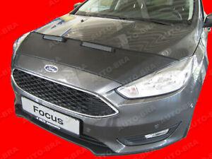 Car Hood Bra fits Ford Focus 3 2014 - 2018 Bonnet Mask Auto-Bra Tuning