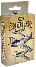 military playing cards world war 2 spotter WWII enemy or friendly rothco 577