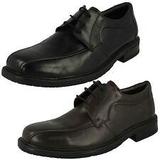 Mens Maverick Black/Brown Lace Up Shoes UK Sizes 7-12  A2120