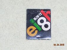 Vintage WJW-TV Eight CBS Bright New 1967 Lineup Ohio Matchbook NO MATCH HEADS