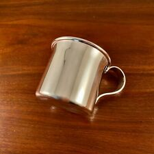 NEW LARGE BUCCELLATI STERLING SILVER BABY CUP - NO MONOGRAM 129g