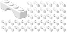 ☀️50x NEW LEGO 1x4 WHITE Arch (ID 3659) BULK Parts City Building Ice Snow Castle
