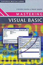 Mastering Visual Basic by Diane Saxon, Diane Saxone, Stephen Saxon...