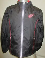 Detroit Red Wings Women S M L XL Full-Zip Jacket w/ Removable Sleeves NHL