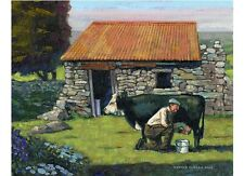 COLOR PRINT OF OIL PAINTING, IRELAND SERIES #25