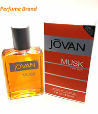 Jovan Musk Aftershave Cologne 8 oz 236 ml For Men (New In Box)
