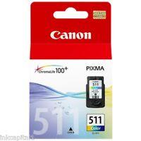 1 Canon CL-511, CL511 Original OEM Colour Inkjet Cartridge For MX330