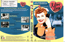I Love Lucy-1951-1957-B-TV Series USA-4 Episodes-DVD