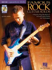 Famous Rock Guitar Solos - A Breakdown of Lead Guitar Styles and Techn 000695590