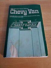 1988 Chevy Van Owner'S Manual