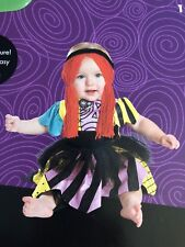 "Tim Burtons ""Sally�Nightmare Before Christmas Prestige Costume Sz 12-18 Mo.Nwt"