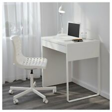 IKEA MICKE WHITE STUDENT DESK COMPUTER WOODEN TABLE WORKSTATION OFFICE HOME