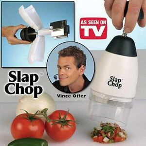Kitchen Slap Chop Food Chopping Machine Tool Cutter Fruit Vegetable Slicer UK