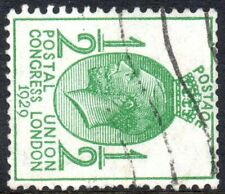 1929 Sg 434a PUC ½d green Sideways Watermark Good to Fine Used