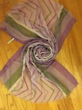 NEW Papillon Women's Accessories Purple Oblong scarf wrap shawl GIFT! NIP Soft!