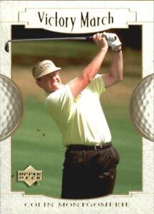 "2001 Upper Deck Golf ""Victory March"" Colin Montgomerie"