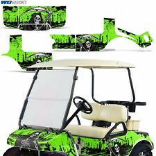 Club Car Graphic Kit Golf Cart Decal Sticker Wrap Accessories Parts 83-14 REAP G
