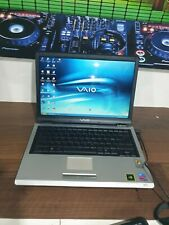 E1482 Sony VAIO  PCG-6G2M Laptop pentium m 1.60ghz 60gb   512mb XP retro gaming