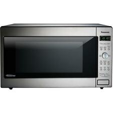 Panasonic Nn-Sd945s Cu Ft Countertop Microwave Stainless 1250w Built Steel Oven