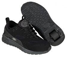 Calzado de niña negra de lona de color principal negro