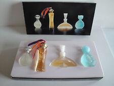 """4 Miniatures de Parfum """" Best Perfumes Collection Paris"""" en coffret"""