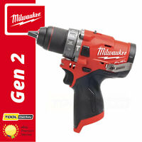 Milwaukee M12FPD-0 12v Cordless Fuel Combi Drill Compact Body Only