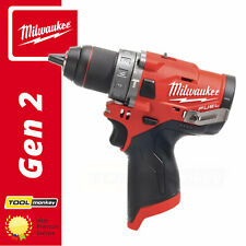 Milwaukee M12FPD-0 12v Cordless Fuel Combi Drill Compact Body Only in Case