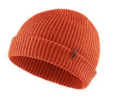 11e311ca030e7 Size  One Size. NEW Nike Mens SB Marled Beanie Knit Hat Orange Running  Adult Unisex SkateBD