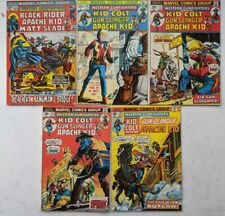 Western Gunfighters Marvel Comics lot of 5 #12, 20, 27, 30, 33