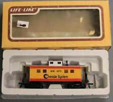 Life-Like 8541 HO WM 1872 Caboose RTR Chessie System LNIB