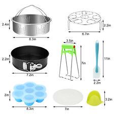 58 Pcs Pressure Cooker Accessories Set For 5,6,8qt Steamer Pan Cook Pot Basket