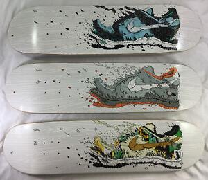 Set of (3) Matt Gondek 2014 Nike Exploder Dunk Signed LE (#15/18) Skate Decks