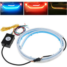 3 Color LED Car Tail Trunk Tailgate Strip Light Brake Driving Signal Knight Set
