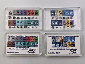 Micro Transition Element Set 28 Elements inc Rhodium Palladium Scandium Hafnium