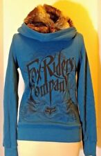 Fox Riders Fox Girls Jacket with Hood Sz S Signature Graphics