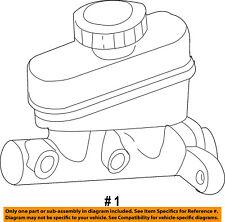 FORD OEM 01-06 Ranger-Brake Master Cylinder 6L5Z2140AA