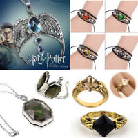 Harry Potter Ravenclaw Lost Diadem Tiara Crown Horcrux Necklace Sweater Pendant