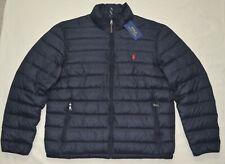 New Medium M POLO RALPH LAUREN Mens puffer down jacket packable coat black NWT