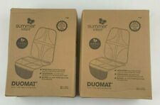 (Lot of 2) Summer Infant DuoMat Car Seat Protector Mat with Storage, Baby, Child
