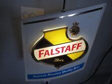Falstaff Vintage Light Rotating Beer Sign Moving 1950's?? 1960's??  RARE