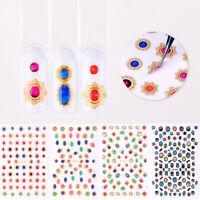 5D Nagel Aufkleber Abziehbilder Transfer Nail Art Decals 3D Dekoration DIY