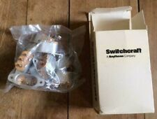 Lot of 10 - NOS/NIB Vintage Switchcraft AC3G Oval Power Entry Receptacles