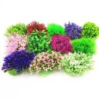 Aquarium Decor Water Grass With Flowers Ornament Plastic Plant Fish Tank Decor
